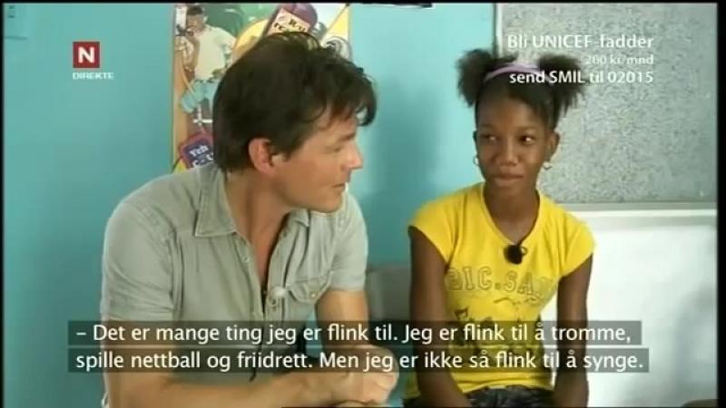 Morten Harket in Jamaica for UNICEF (2011)