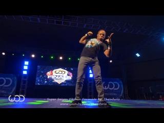 Fikshun Dragonball Z Dance -  World of Dance Finals 2015 - #WODFINALS15