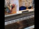 Процесс вязания юбки-плиссе