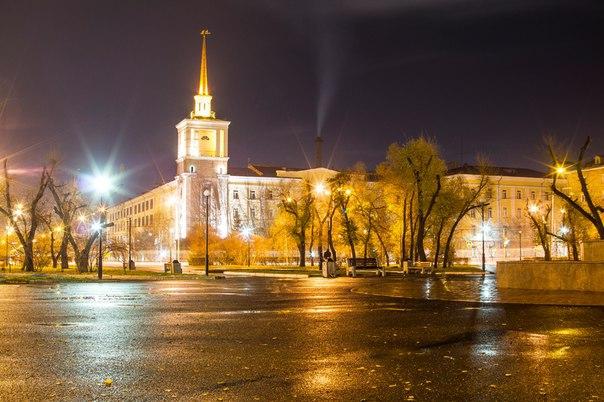 Вечерняя Красная площадь.