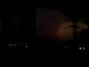 Ад в Москве СВАО .Гроза , дождь. 11,08,2013