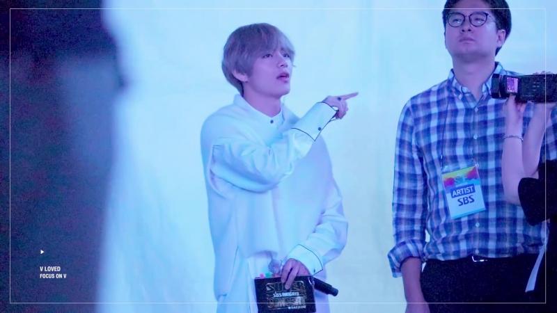 [FANCAM] 17/09/24 SF Music Festival Global K-Pop Super Concert in Daejeon (V REACTION Really Really)