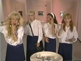 Monique Gabrielle, Rhonda Shear &amp Linnea Quigley - USA Up All Night