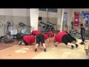 «Взвешенные и счастливые люди»: первая тренировка у красной команды