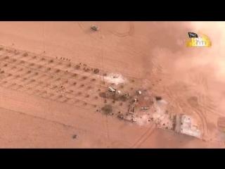 Атака моджахедов на позиции САА. Восточная Хама