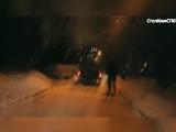 Водитель прокатил на капоте пешеходов