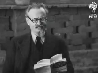 Лев Троцкий (выступление на английском языке)