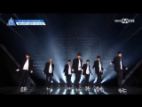 170428 Team 1 - Boy In Luv (BTS cover) @PRODUCE 101 Season 2 [EP.3]