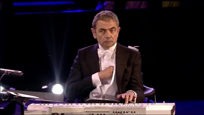 МИСТЕР БИН ЖЖЕТ НА СИНТЕЗАТОРЕ Mr Bean play piano