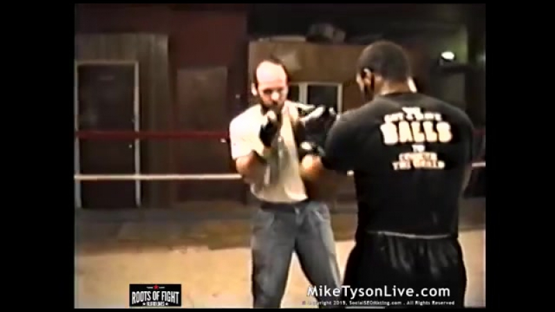 Iron Mike Tyson BOOM