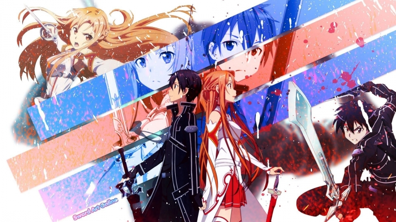 AMV_АМВ_Anime_Sword Art Online_ Linkin Park – What Ive Done_