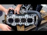 Разбираем мотор от Спортбайка, сравниваем с автомобильным мотором.