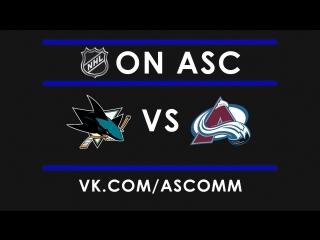 NHL   Sharks vs Avalanche