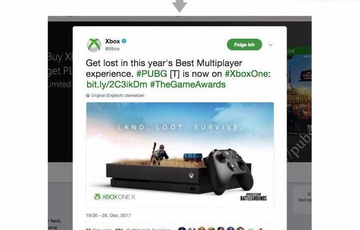 Microsoft украла концепт рекламного постера PUBG
