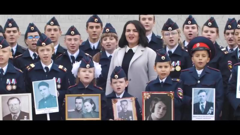 Юные обитатели исполнили патриотичную композицию Дядя Вова мы с тобой