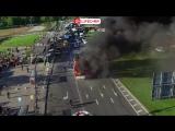 На юго-западе Москвы загорелся пассажирский автобус