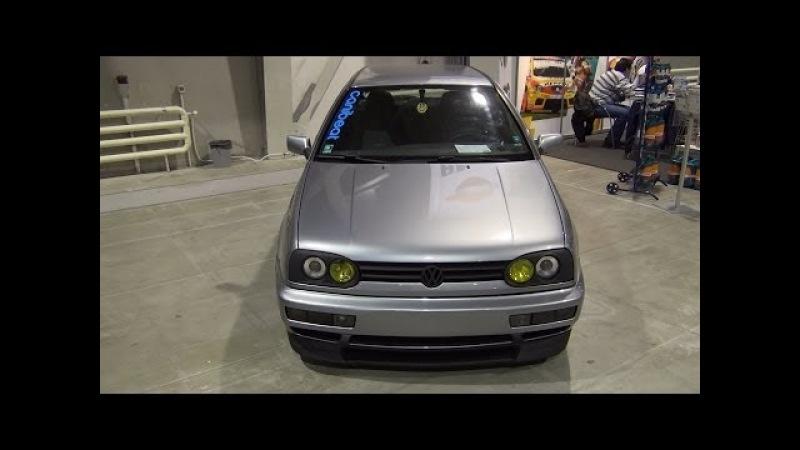 Volkswagen Golf Mk3 Tuned (1992) Exterior and Interior in 3D 4K UHD