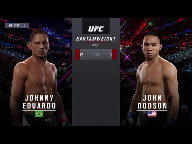 UFL 26 - BW - Johnny Eduardo (andrey301736) vs John Dodson (maks910031)