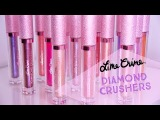 Lime Crime Diamond Crushers Swatches On arm &amp Lips