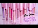 Lime Crime Diamond Crushers Swatches   On arm Lips