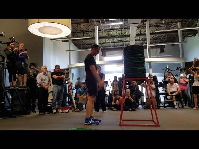 63 5 inch box jump by Evan Ungar for the Guinness World Record