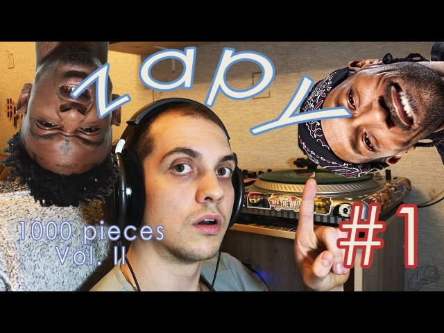 Dj Zapy: Создание нового микстейпа. 1000 pieces II. 1