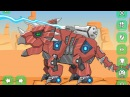 Toy War Robot Triceratops - Powerful and large dinosaur (Toy War Robot)