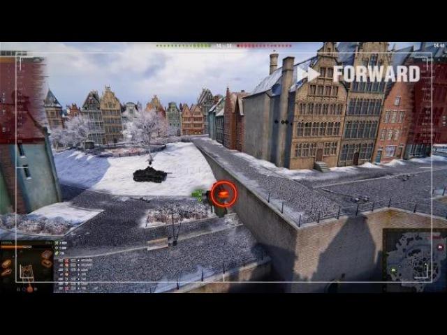 World of Tanks. Переворотный - ХРН 83