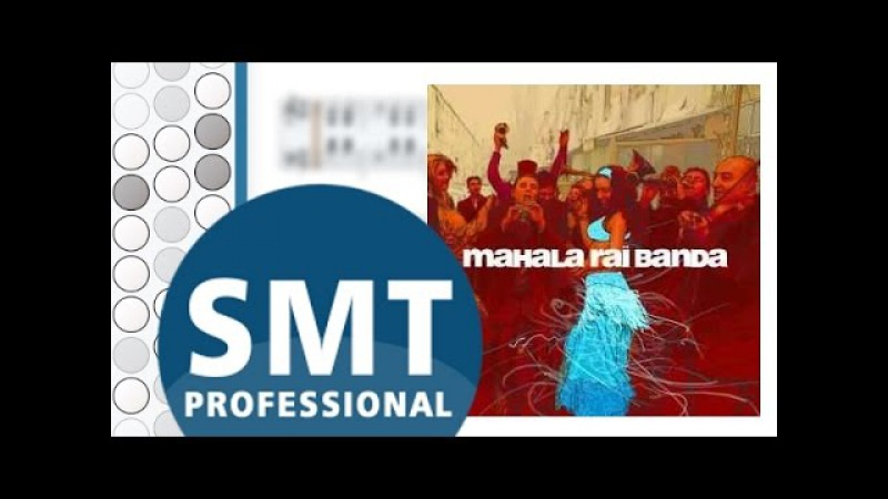 Как играть на баяне Mahalageasca | How to play on accordion | SMT Pro