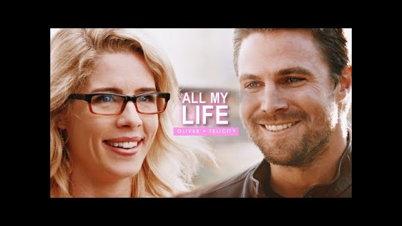 Oliver Felicity || All My Life (6x08)