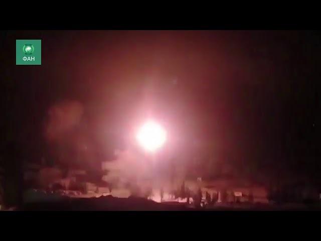 Сирия уничтожает «Джебхат ан-Нусру» в Восточной Гуте: корреспондент ФАН снял на видео обстрел САА