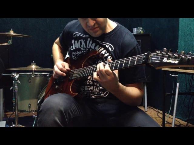 Metallica Enter Sandman solo cover
