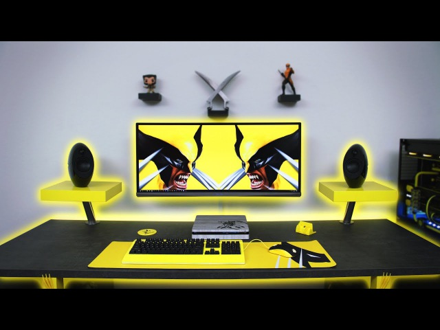 $7500 Ultimate Wolverine Desk Setup Time Lapse