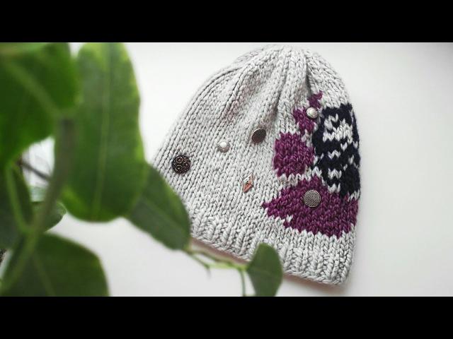 Самая Красивая Шапка Спицами Вязание Knit Mom