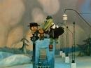 Голубой вагон из мультфильма Шапокляк