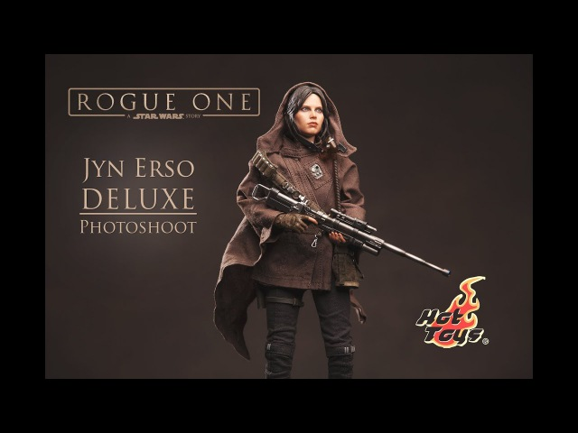 Hot Toys Jyn Erso Deluxe MMS 405 - Photoshoot