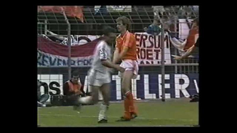1988 UEFA Euro Qualifiers Netherlands v Hungary