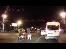 Лунтик, Белка, Микки Маус и Спанч Боб избили водителя драка