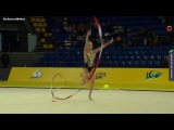 Yulia Isachanka ribbon EF 2018 Kiev Deriugina International Tournament
