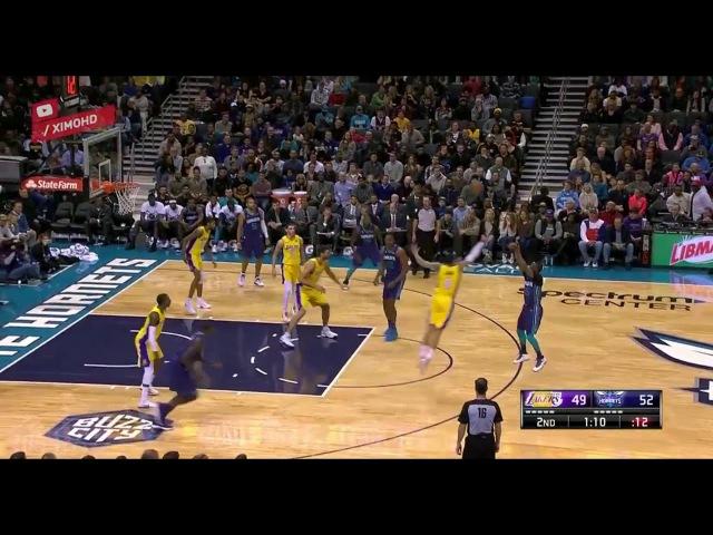 【NBA】LA Lakers vs Charlotte Hornets Full Game Highlights December 9, 2017-18 NBA Season