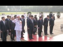 Chinese President Lays Wreath at Ho Chi Minh Mausoleum