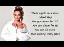 Little Mix - Is Your Love Enough ? (Lyrics Pictures)