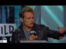 Чужестранка: Катрина Балф и Сэм Хьюэн обсуждают «Outlander» на канале AOL BUILD 06.09.17 [RUS SUB]