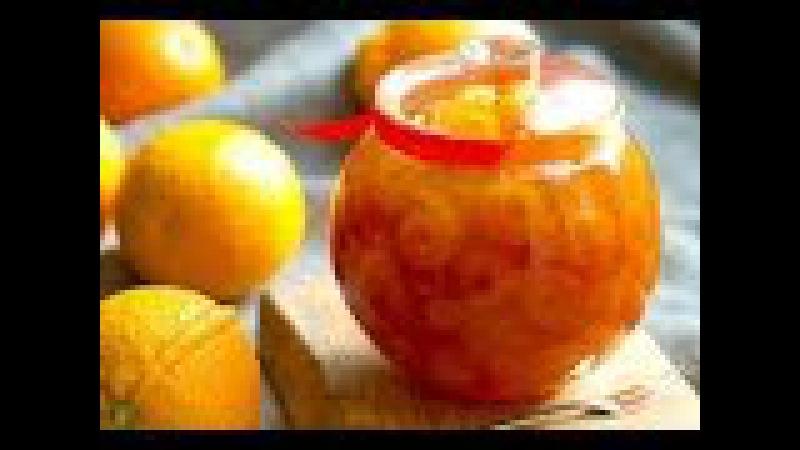 Варенье из лимона и апельсина