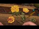 ВЯЗАНИЕ! МК бутона розы часть 2