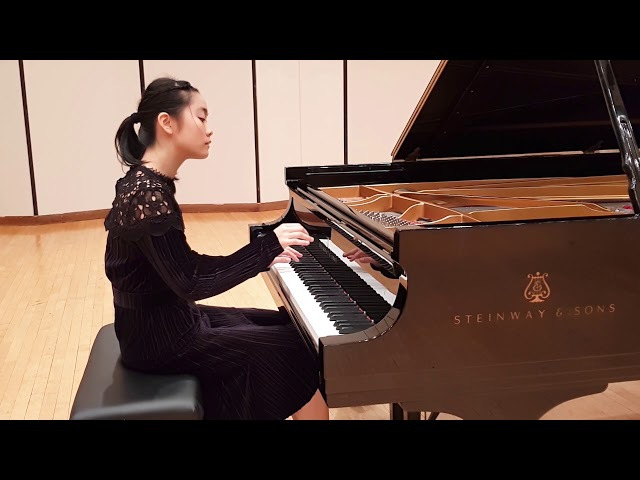 Tiffany Poon - Beethoven Sonata Op.10 No.3