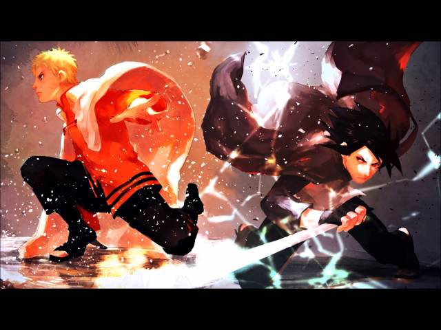 Most Epic Battle Anime Ost-Spin and Burst ( Boruto:Naruto The Movie)