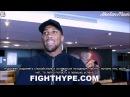 Энтони Джошуа о бойцах UFC Русские субтитры 'ynjyb l jief j jqwf ufc heccrbt ce nbnhs