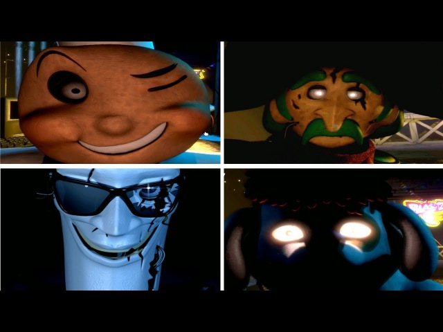 ALL JUMPSCARES!! Mac Tonight and The Forgotten Ones