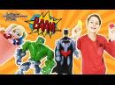 ДАНЯ и супергерои Халк Флэш и Человек Паук Супер пранки для БЭТМЕНА Видео для де...